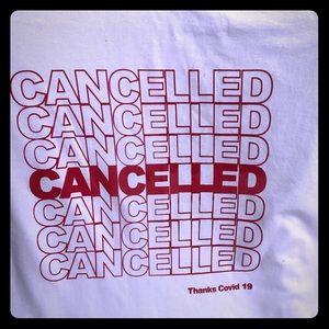 Cancelled shirt